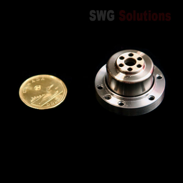 Strain Wave Gearing - SWG-C-25 (Small Size Cup Style Components Compare with a Dollar Corn)